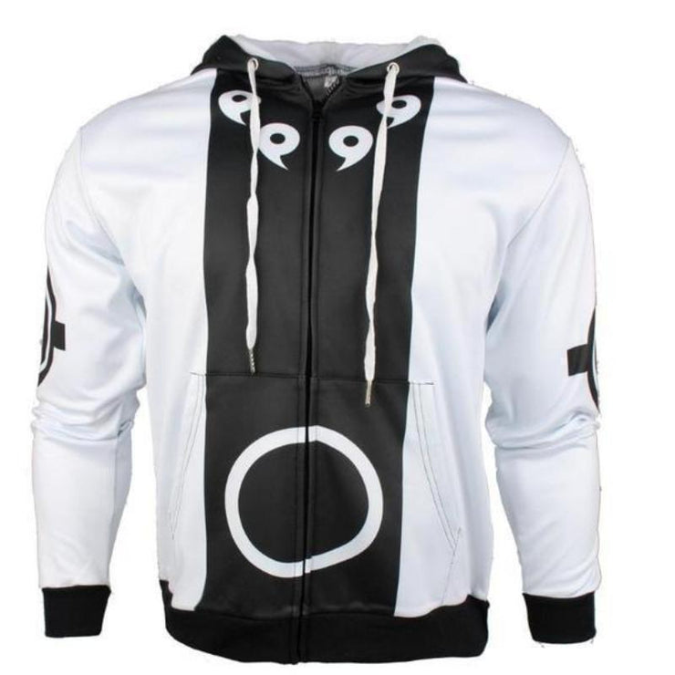 OtakuForm-Naruto Zip Up Hoodie XXS Ashura Bijuu Mode Hoodie -  Naruto Cosplay Zip Up Hoodies