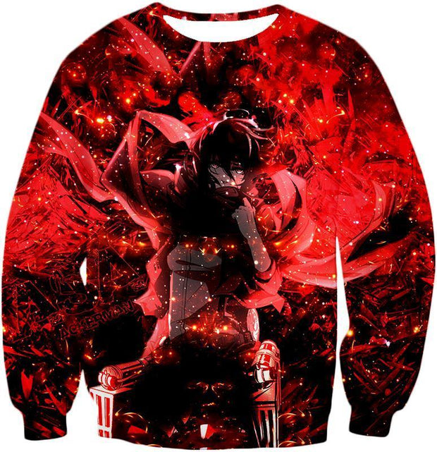 OtakuForm-OP Hoodie Sweatshirt / US XXS (Asian XS) Attack on Titan Awesome Mikasa Ackerman Fan Promo Hoodie