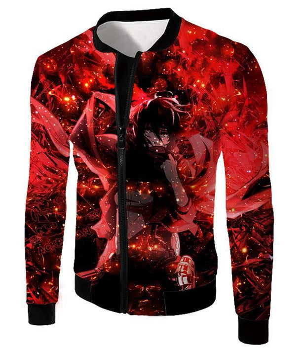 OtakuForm-OP Hoodie Jacket / US XXS (Asian XS) Attack on Titan Awesome Mikasa Ackerman Fan Promo Hoodie