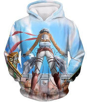 OtakuForm-OP Hoodie Hoodie / US XXS (Asian XS) Attack on Titan Cool Action Still Mikasa Ackerman Vs Titans Hoodie