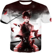 OtakuForm-OP Hoodie T-Shirt / US XXS (Asian XS) Attack on Titan Cool Survey Corps Soldier Eren Yeager Hoodie  - Anime Hoodie