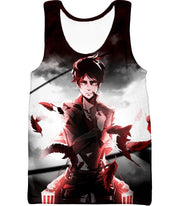 OtakuForm-OP Hoodie Tank Top / US XXS (Asian XS) Attack on Titan Cool Survey Corps Soldier Eren Yeager Hoodie  - Anime Hoodie