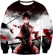 OtakuForm-OP Hoodie Sweatshirt / US XXS (Asian XS) Attack on Titan Cool Survey Corps Soldier Eren Yeager Hoodie  - Anime Hoodie
