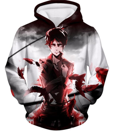 OtakuForm-OP Hoodie Hoodie / US XXS (Asian XS) Attack on Titan Cool Survey Corps Soldier Eren Yeager Hoodie  - Anime Hoodie