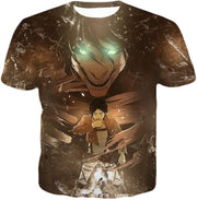 OtakuForm-OP Hoodie T-Shirt / US XXS (Asian XS) Attack on Titan Eren Yeager The Titan Dark Hoodie