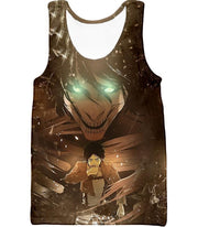OtakuForm-OP Hoodie Tank Top / US XXS (Asian XS) Attack on Titan Eren Yeager The Titan Dark Hoodie