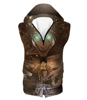 OtakuForm-OP Hoodie Hooded Tank Top / US XXS (Asian XS) Attack on Titan Eren Yeager The Titan Dark Hoodie