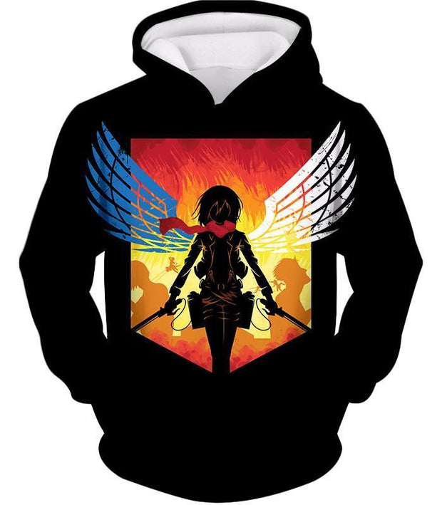 OtakuForm-OP Hoodie Hoodie / US XXS (Asian XS) Attack on Titan Eren Yeager Vs Colossus Titan Hoodie