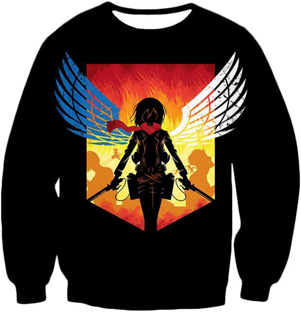OtakuForm-OP Hoodie Sweatshirt / US XXS (Asian XS) Attack on Titan Eren Yeager Vs Colossus Titan Hoodie