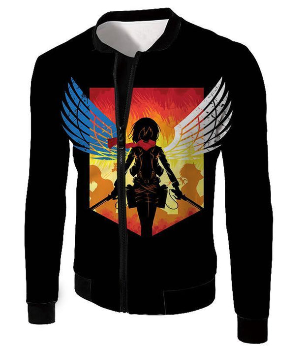 OtakuForm-OP Hoodie Jacket / US XXS (Asian XS) Attack on Titan Eren Yeager Vs Colossus Titan Hoodie