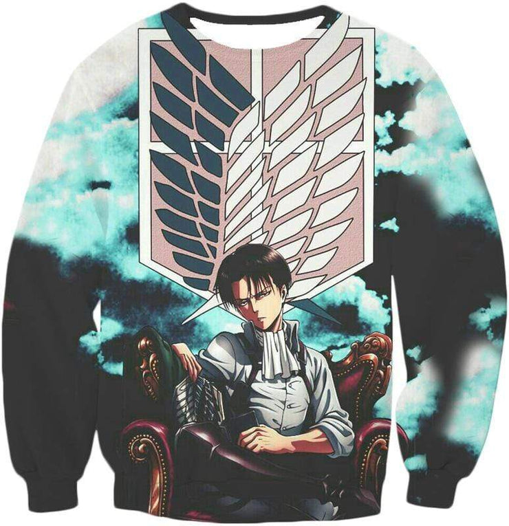 OtakuForm-OP Zip Up Hoodie Sweatshirt / XXS Attack on Titan Heichov Levi Ackerman Zip Up Hoodie Hoodie