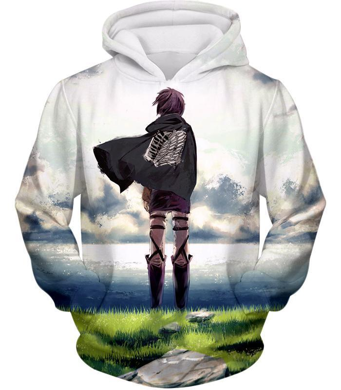 Anime Attack On Titan Survey Corps Cool Sweatshirt Unisex Hoodie Coat