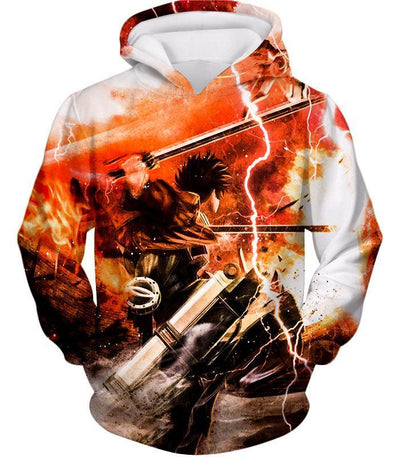 OtakuForm-OP Hoodie Hoodie / XXS Attack On Titan Hoodie - Attack on Titan Ultimate Attack on Titan Action Promo Cool Anime Graphic Hoodie