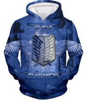 OtakuForm-OP Hoodie Hoodie / US XXS (Asian XS) Attack on Titan Mikasa Ackerman The Survey Soldier Action Hoodie