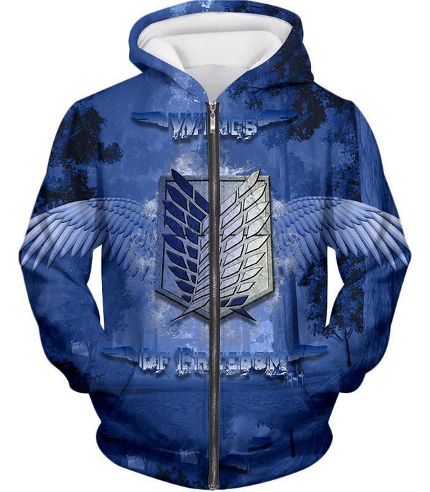 OtakuForm-OP Hoodie Zip Up Hoodie / US XXS (Asian XS) Attack on Titan Mikasa Ackerman The Survey Soldier Action Hoodie