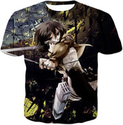 OtakuForm-OP Hoodie T-Shirt / US XXS (Asian XS) Attack on Titan Mikasa Ackerman Wings of Freedom Black Hoodie