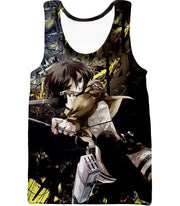 OtakuForm-OP Hoodie Tank Top / US XXS (Asian XS) Attack on Titan Mikasa Ackerman Wings of Freedom Black Hoodie