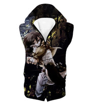 OtakuForm-OP Hoodie Hooded Tank Top / US XXS (Asian XS) Attack on Titan Mikasa Ackerman Wings of Freedom Black Hoodie