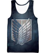 OtakuForm-OP Hoodie Tank Top / US XXS (Asian XS) Attack on Titan Powerful Titan Eren Yeager Hoodie
