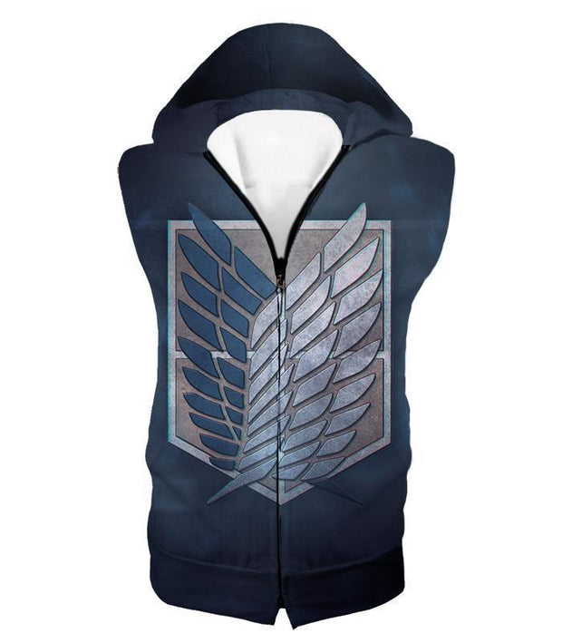 OtakuForm-OP Hoodie Hooded Tank Top / US XXS (Asian XS) Attack on Titan Powerful Titan Eren Yeager Hoodie