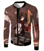OtakuForm-OP Hoodie Jacket / US XXS (Asian XS) Attack on Titan The Survey Corps Emblem Black Hoodie