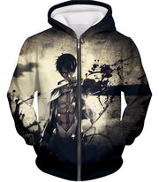 OtakuForm-OP Hoodie Zip Up Hoodie / US XXS (Asian XS) Attack on Titan The Survey Corps Wings of Freedom Blue Hoodie