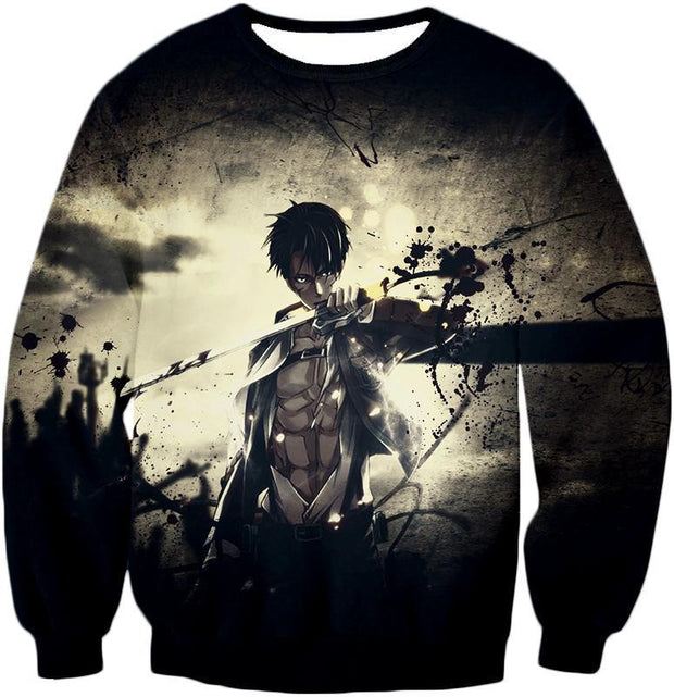 OtakuForm-OP Hoodie Sweatshirt / US XXS (Asian XS) Attack on Titan The Survey Corps Wings of Freedom Blue Hoodie
