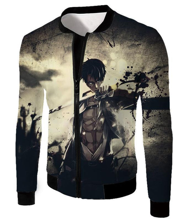 OtakuForm-OP Hoodie Jacket / US XXS (Asian XS) Attack on Titan The Survey Corps Wings of Freedom Blue Hoodie