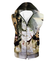 OtakuForm-OP Hoodie Hooded Tank Top / US XXS (Asian XS) Attack on Titan The Titan Human Eren Yeager Hoodie  - Anime Hoodie