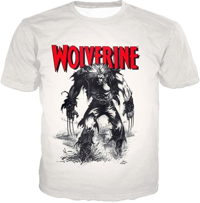 db8a31af0 Otakuform-OP T-Shirt T-Shirt / XXS Awesome Animated Wolverine Promo Cool
