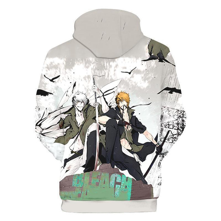 OtakuForm-Bleach Hoodie XXS Bleach Hollow Ichigo Manage Version Hoodie - Bleach Hoodie