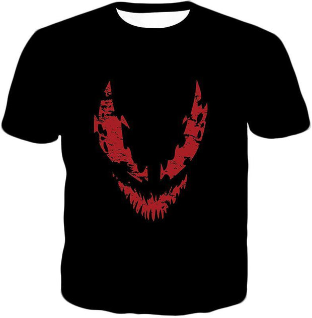 OtakuForm-OP T-Shirt T-Shirt / XXS Blood Red Spiderman Villain Carnage Promo Black T-Shirt