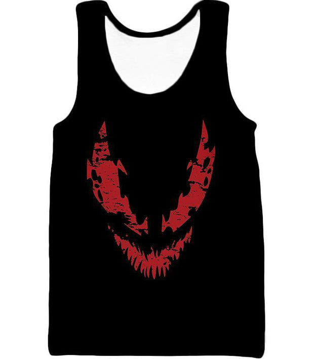 OtakuForm-OP T-Shirt Tank Top / XXS Blood Red Spiderman Villain Carnage Promo Black T-Shirt