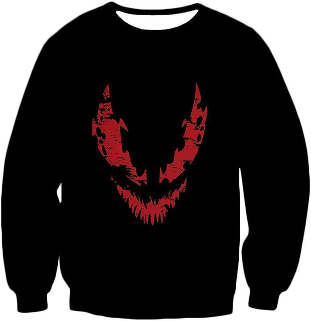 OtakuForm-OP T-Shirt Sweatshirt / XXS Blood Red Spiderman Villain Carnage Promo Black T-Shirt