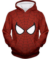 OtakuForm-OP T-Shirt Hoodie / XXS Cool Spider Net Patterned Spidey Eyes Red  T-Shirt