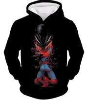 OtakuForm-OP T-Shirt Hoodie / XXS Crazy Venom Feeding Spiderman Black Action T-Shirt