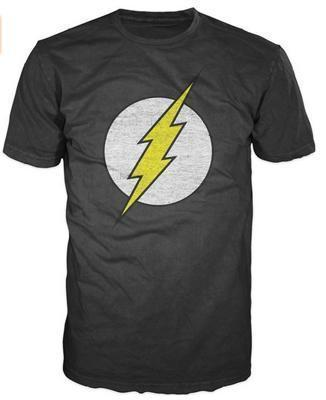 OtakuForm-SH T-Shirt US S / Dark Grey Dark Gray FLASH Tee Shirt for Men