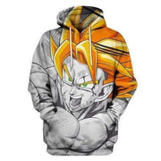 Dragon Ball Hoodie XXS DBZ Hoodies - Classic Dragon Ball Manga Clothing Hoodie