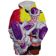 Dragon Ball Hoodie XXS DBZ Hoodies - Frieza Saga Transformation Dragon Ball Z 3D Graphic Hoodie