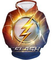 OtakuForm-OP Zip Up Hoodie Hoodie / XXS DC Comics The Flash Symbol Zip Up Hoodie - Superhero 3D Zip Up Hoodies And Clothing Hoodie