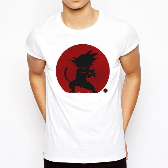 OtakuForm-SH T-Shirt S / Style 1 DRAGON BALL Slim Fit Short Sleeve Shirt for Men (16 styles)