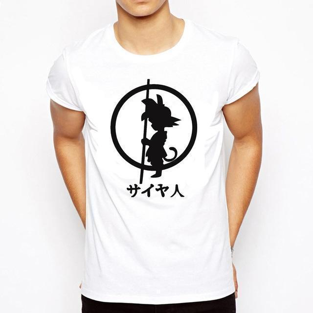 OtakuForm-SH T-Shirt S / Style 11 DRAGON BALL Slim Fit Short Sleeve Shirt for Men (16 styles)