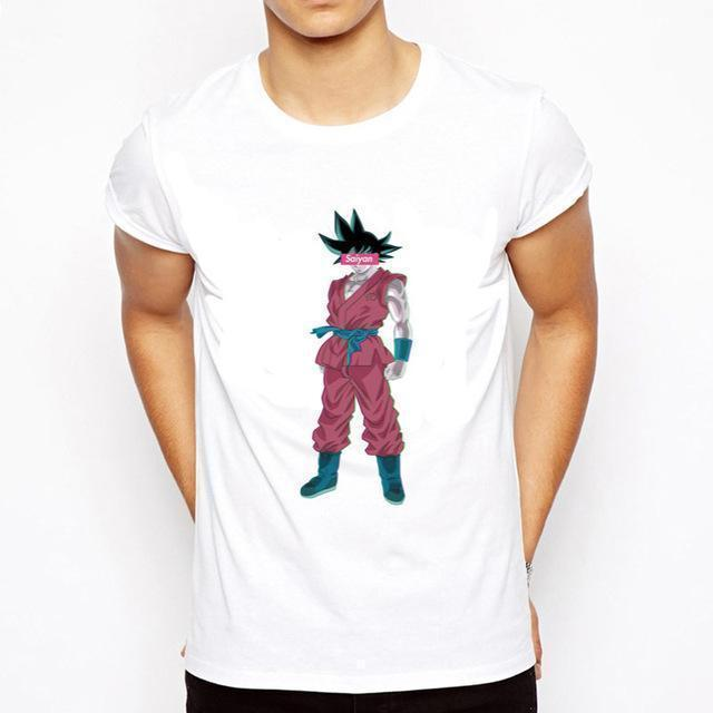 OtakuForm-SH T-Shirt S / Style 13 DRAGON BALL Slim Fit Short Sleeve Shirt for Men (16 styles)