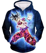 OtakuForm-OP Hoodie Hoodie / XXS Dragon Ball Super Amazing Goku Ultra Instinct Power Cool Black Hoodie - Dragon Ball Hoodie