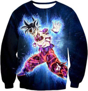 OtakuForm-OP Hoodie Sweatshirt / XXS Dragon Ball Super Amazing Goku Ultra Instinct Power Cool Black Hoodie - Dragon Ball Hoodie