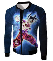 OtakuForm-OP Hoodie Jacket / XXS Dragon Ball Super Amazing Goku Ultra Instinct Power Cool Black Hoodie - Dragon Ball Hoodie