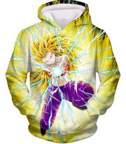 OtakuForm-OP Sweatshirt Hoodie / XXS Dragon Ball Super Amazing Super Saiyan 3 Caulifla Cool Action Anime Graphic Sweatshirt - Dragon Ball Super Sweater