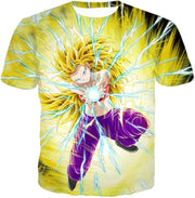 OtakuForm-OP Sweatshirt T-Shirt / XXS Dragon Ball Super Amazing Super Saiyan 3 Caulifla Cool Action Anime Graphic Sweatshirt - Dragon Ball Super Sweater