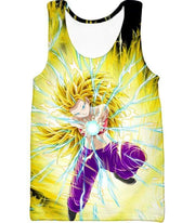 OtakuForm-OP Sweatshirt Tank Top / XXS Dragon Ball Super Amazing Super Saiyan 3 Caulifla Cool Action Anime Graphic Sweatshirt - Dragon Ball Super Sweater