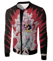 OtakuForm-OP Zip Up Hoodie Jacket / XXS Dragon Ball Super Android 21 Ultimate Evil Form Graphci Zip Up Hoodie - Dragon Ball Super Hoodie